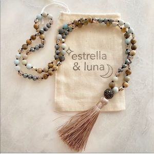 NWT Jasper & Amazonite Necklace